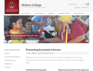 bmcee.uark.edu screenshot