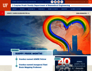 bme.ufl.edu screenshot