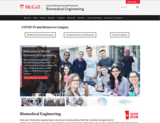 bmed.mcgill.ca screenshot