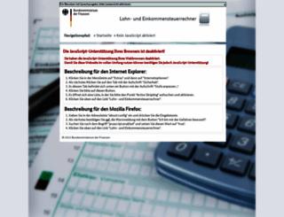 bmf-steuerrechner.de screenshot