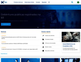 bmfbovespa.com.br screenshot