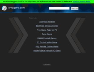 bmggame.com screenshot