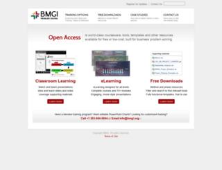 bmgi.org screenshot