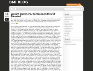 bmiblog.de screenshot