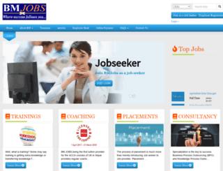 bmjobs.com.np screenshot