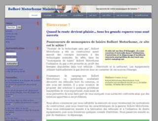 bmmaintenance.leobaillard.org screenshot