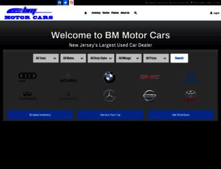 bmmotorcars.com screenshot