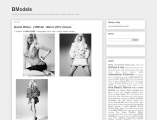 bmodels.blogspot.com screenshot