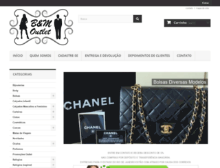 bmoutlet.com.br screenshot