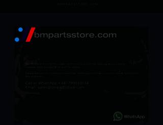 bmpartsstore.com screenshot