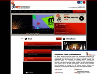 bmradio.de screenshot