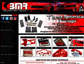 bmrfabrication.com screenshot