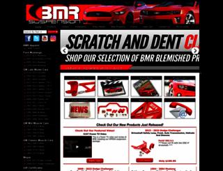 bmrsuspension.com screenshot