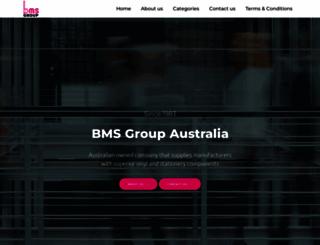 bmsaustralia.com.au screenshot