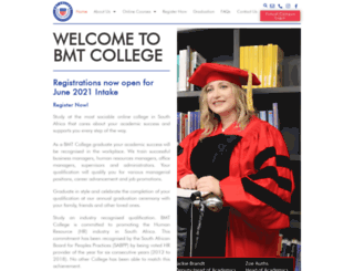 bmtcollege.edu.za screenshot