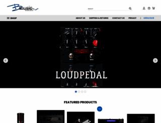bmusic.com.au screenshot