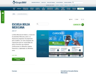 bmveducacion.com.mx screenshot