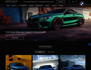 bmw-birdautomotive.in screenshot