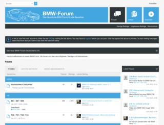 bmw-forum.de screenshot