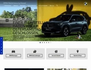 bmw-kassel.de screenshot