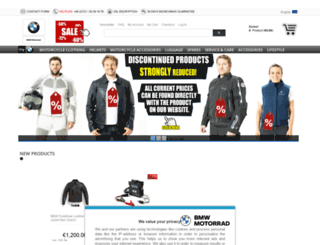 bmw-motorrad-store.fr screenshot