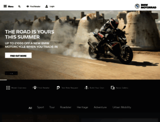 bmw-motorrad.co.uk screenshot