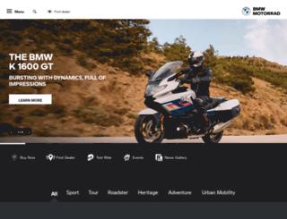 bmw-motorrad.co.za screenshot