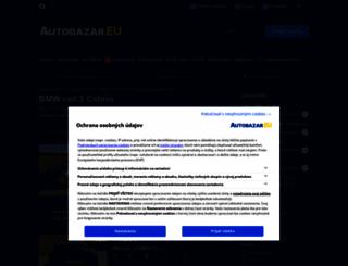 bmw-rad-3-cabrio.autobazar.eu screenshot