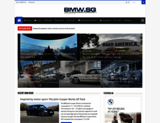 bmw-sg.com screenshot