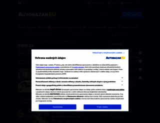 bmw-z4.autobazar.eu screenshot
