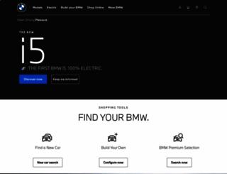 bmw.com.my screenshot