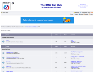 bmwcarclubforum.co.uk screenshot