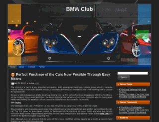 bmwclub-chn.com screenshot