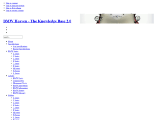 bmwheaven.com screenshot
