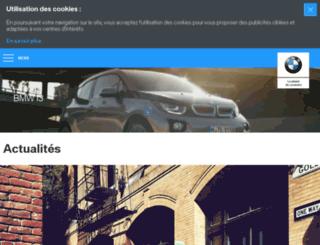 bmwi-experience.fr screenshot