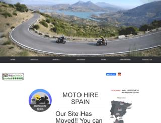 bmwmotohire.com screenshot