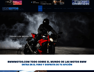 bmwmotos.com screenshot