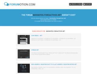 bmwmotos.foroactivos.net screenshot