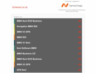 bmwnavi.co.uk screenshot