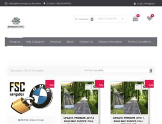 bmwnavipro.co.business screenshot
