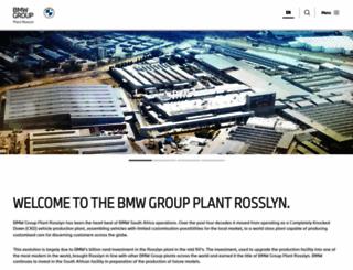 bmwplant.co.za screenshot