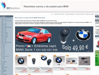 bmwrecambios.es screenshot