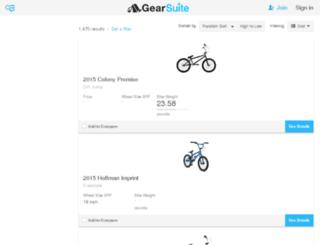 bmx-bikes.gearsuite.com screenshot