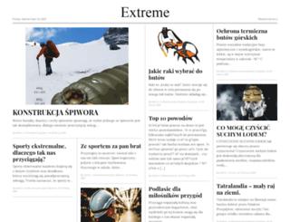 bmx.extreme.org.pl screenshot