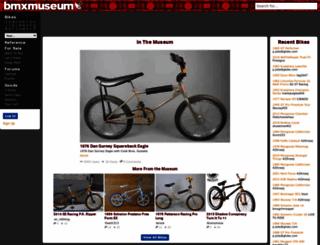 bmxmuseum.com screenshot