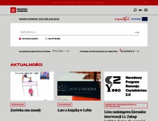 bn.org.pl screenshot