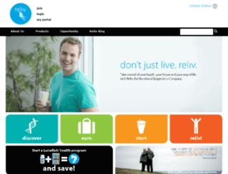 bn.reliv.com screenshot