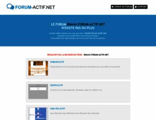 bna44.forum-actif.net screenshot