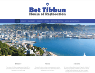 bnai-tikkun.org.nz screenshot