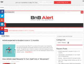 bnbalert.com screenshot